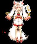 Anime render: Kyubei (Magi madoka magica)