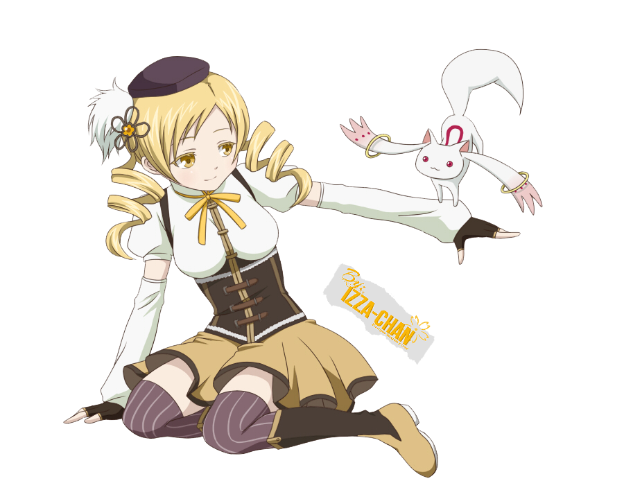 Alice-Finished Anime_render__tomoe_mami__magi_madoka_magica__by_izza_chan-d6k6tny