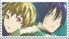 Noragami Stamp: Yato and Yukine by Izza-chan