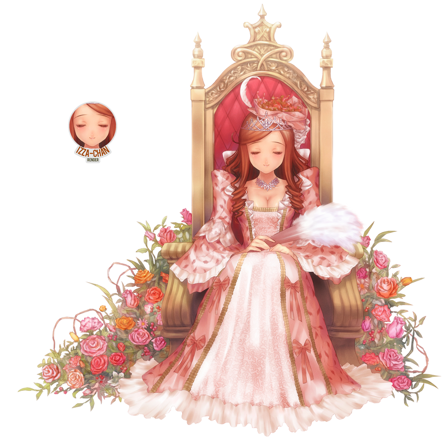 La Boîte Magique aux Rêves  ___random_render____queen____by_izza_chan-d7k9xgb