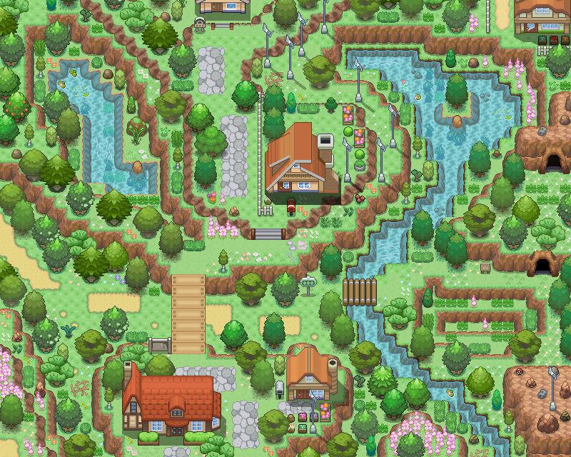 [Pokemon Map] Small village