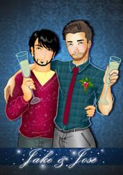 Jake and Jose by Danny-Tsukino