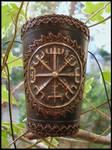 Vikings compass bracer