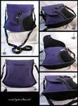 Black + Purple