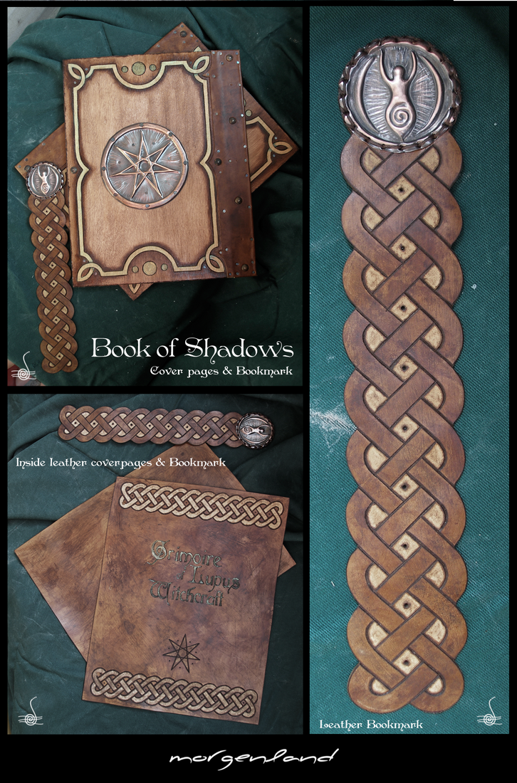 How To Make A Book Of Shadows Cover ~ Book of shadows covers only by morgenland on deviantart