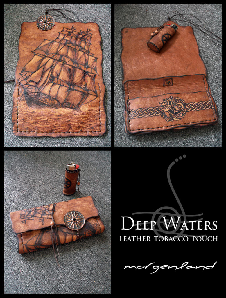 Deep Waters tobacco pouch by morgenland