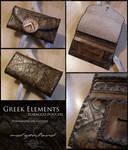 Greek Elements tobacco pouch