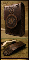 'The Sun' - Leather tarot cards case