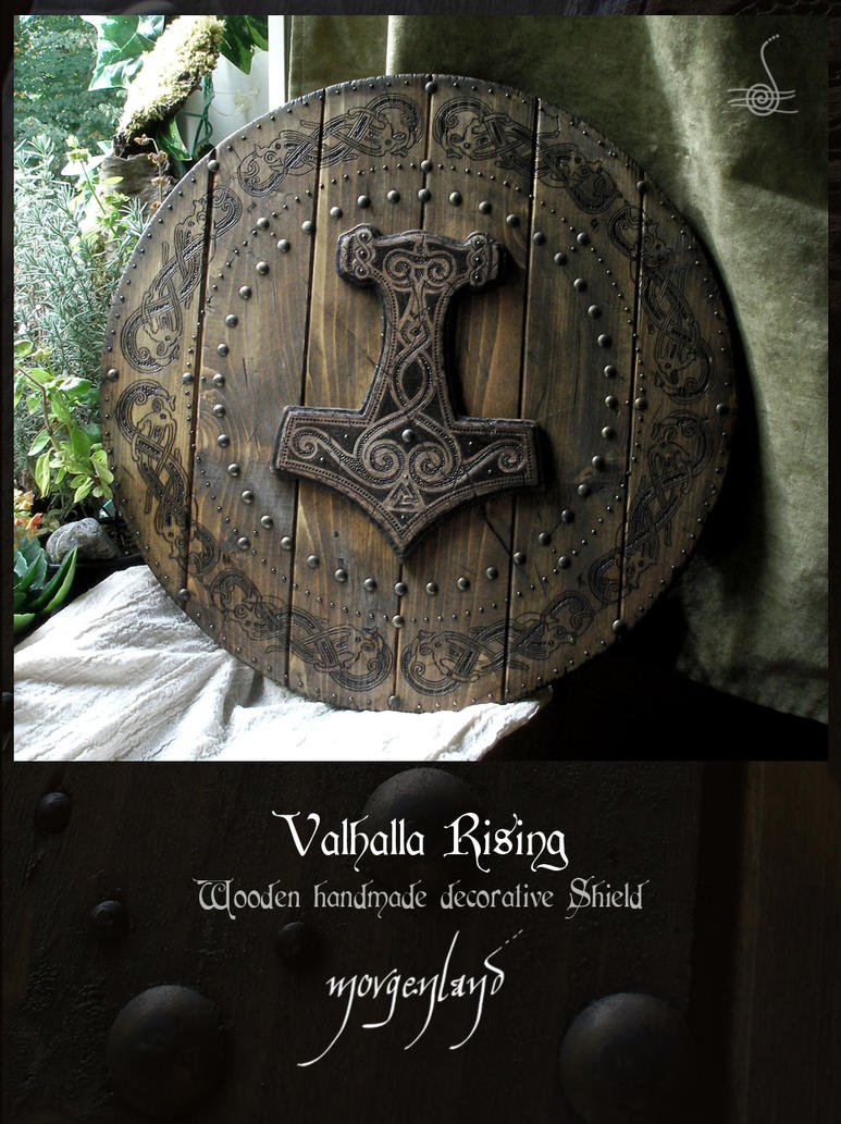 Valhalla Rising - decorative shield 2 by morgenland