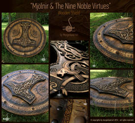 Mjolnir and the Nine Noble Virtues