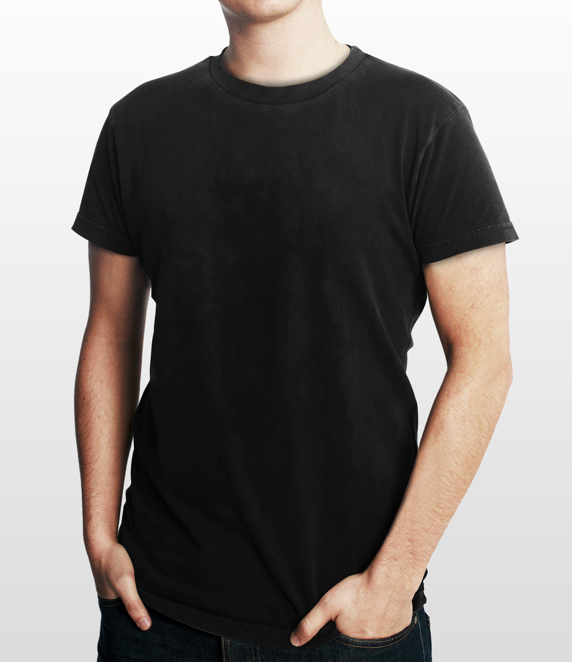 Images Of Black T Shirt Model Template Spacehero