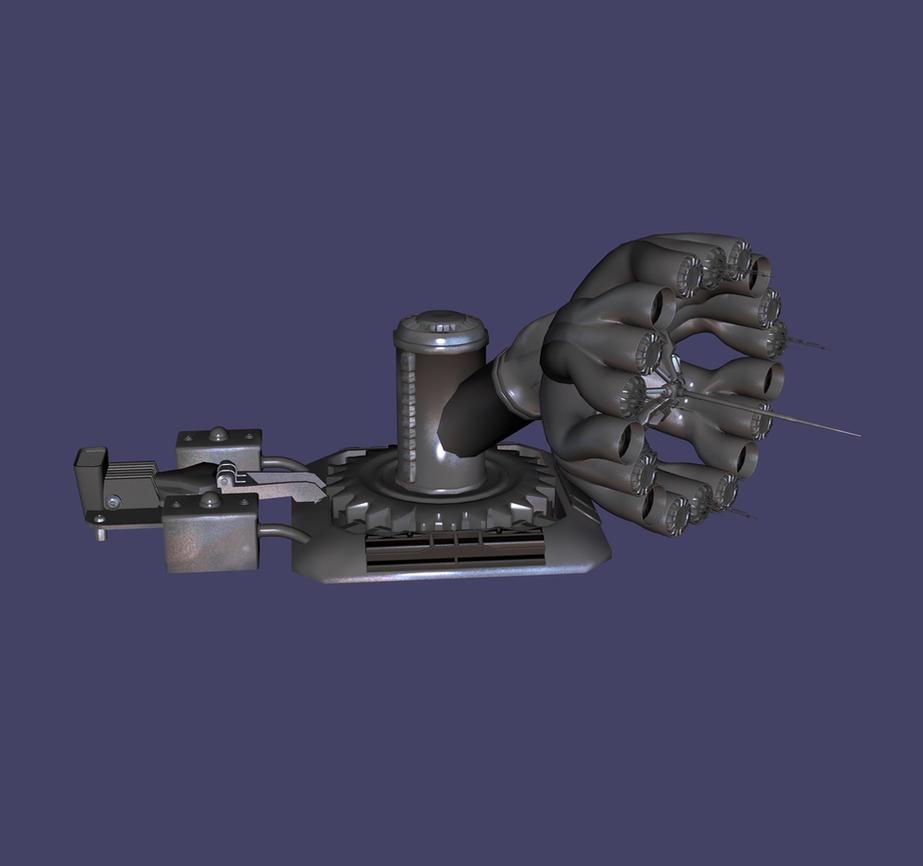 SteamPunk Radar Wip 5 by BorgBoy7