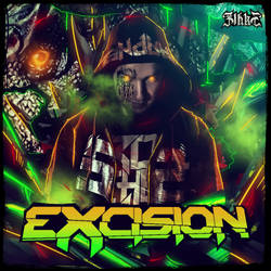 Excision_Neon Art Series by Zihke