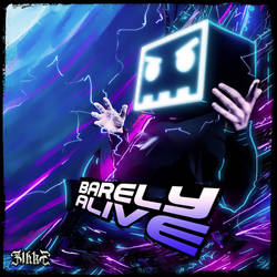 Barely Alive_Neon Art Series by Zihke