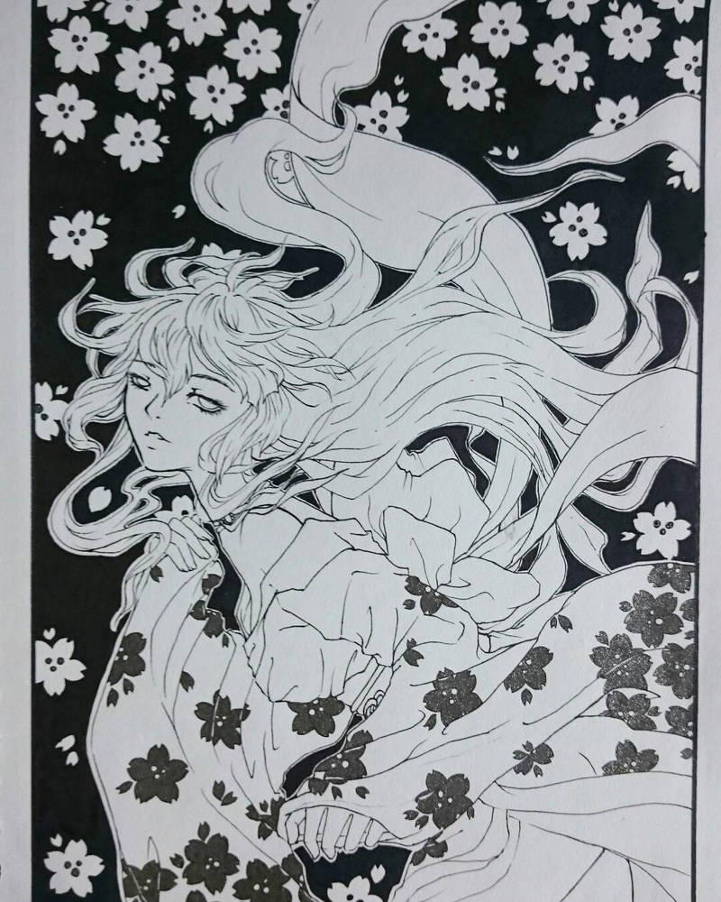 spring kimono  by cigma44