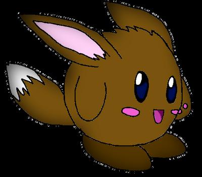 Eevee Kirby (Charity Drawing) by Mizael-Hikari