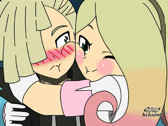 AetherNullShipping - Gladion and Arvette