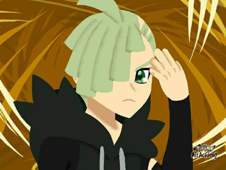 3D colouring of Gladion