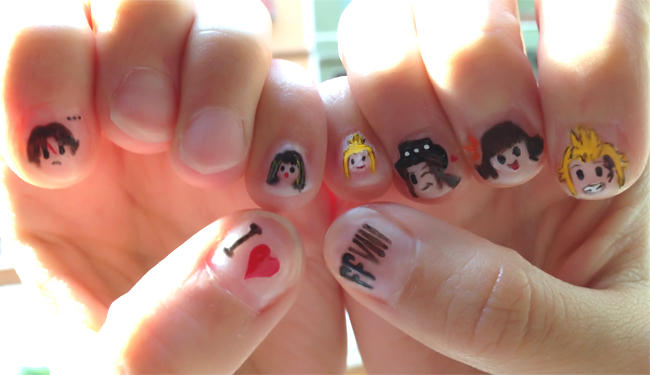 Final fantasy viii nail art by crazyselphie on deviantart final fantasy viii nail art by crazyselphie prinsesfo Choice Image