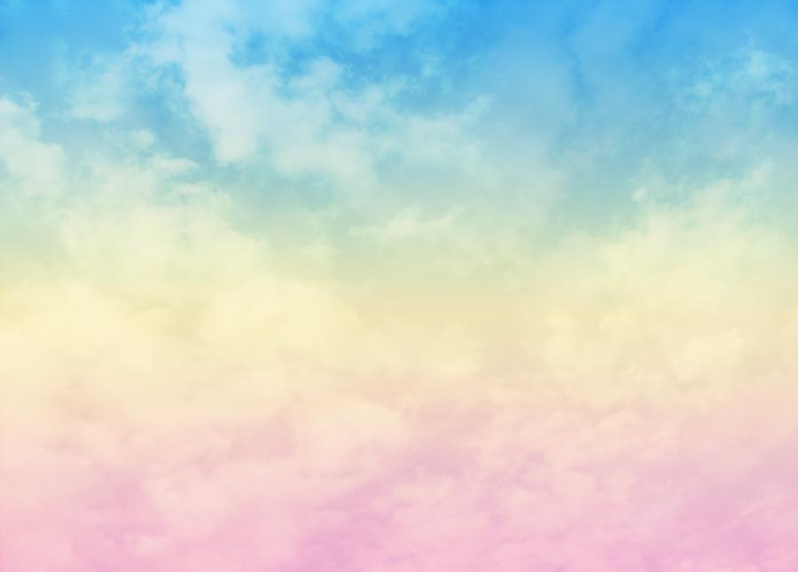 Colorful Cloud Texture By Jevi Joyce