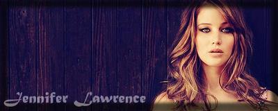 Jennifer Lawrence Signature (boarder) by Miyra