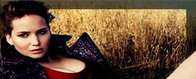 Jennifer Lawrence Signature (boarder black) by Miyra