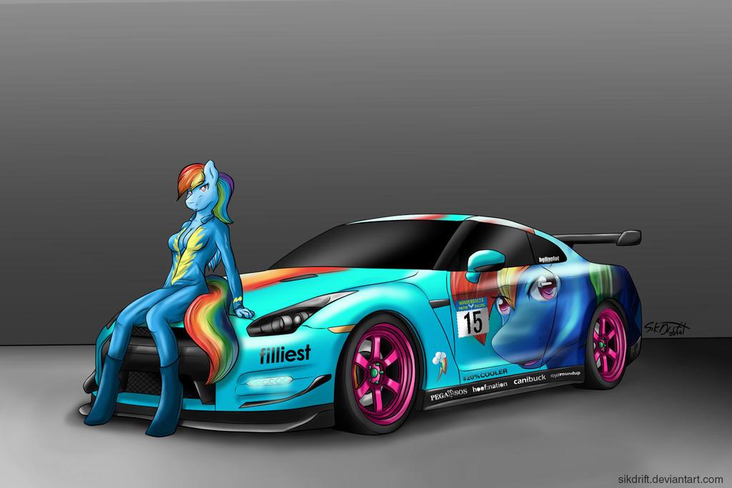 Because Racecar by SikDrift on DeviantArt