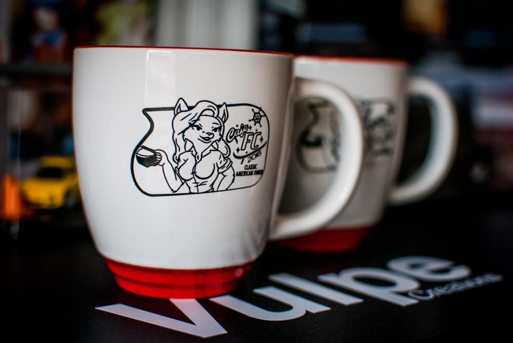 Futher Confusion 2016 Sponsor Gift Mug Design by SikDrift