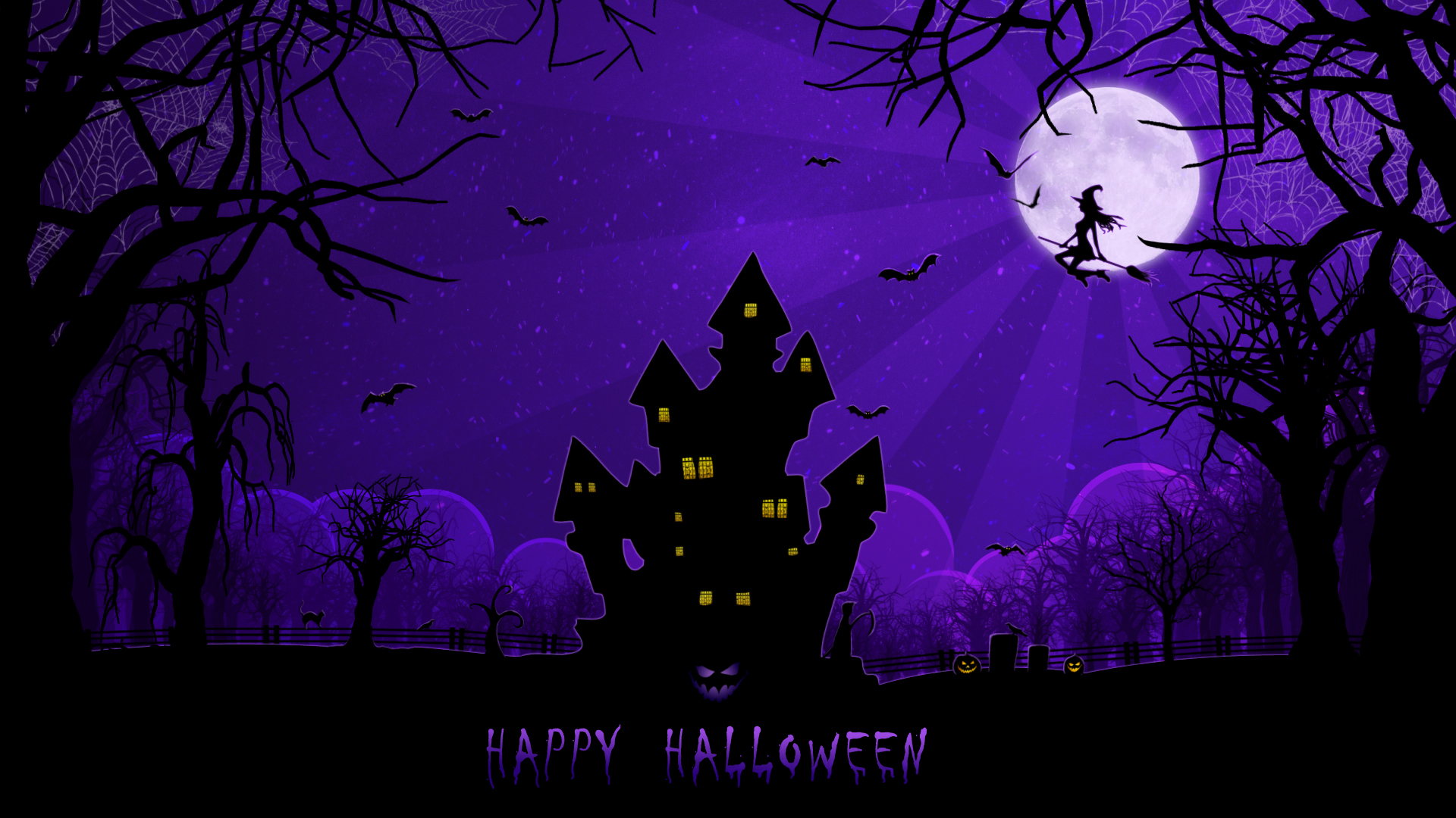 happy spooky halloween available in 19201080 - Creepy Halloween Wallpapers