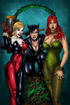 DC Bad Girls by OriginStory