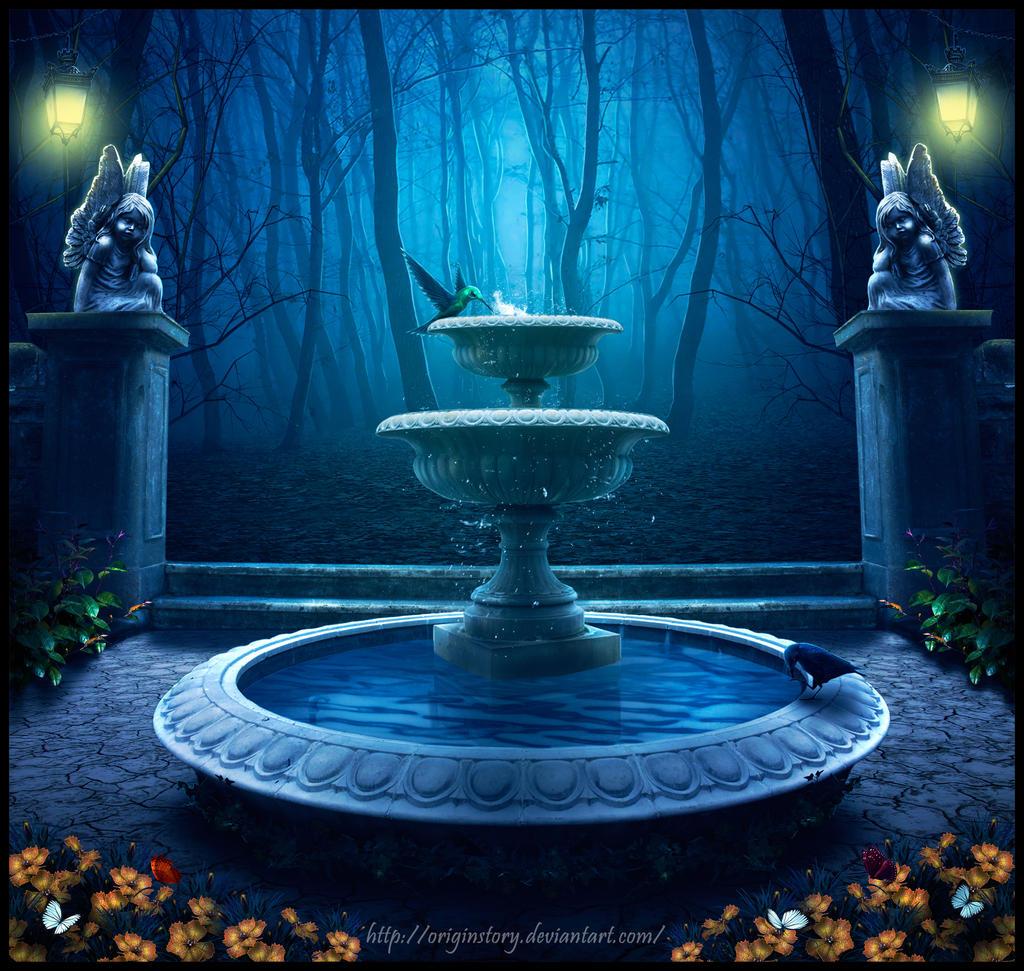Magical Garden By OriginStory On DeviantArt