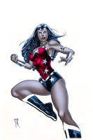 Wonder Woman New 52 by Stephane Roux by OriginStory