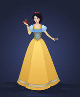 Snow White Redesign 2 by OriginStory