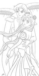Serenity and Endymion lines by OriginStory