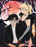 Mamoru and Usagi's Halloween Date Night