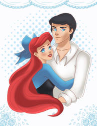 Ariel and Eric by OriginStory