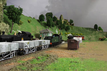 China Clay Empties from Malpas by Brit31