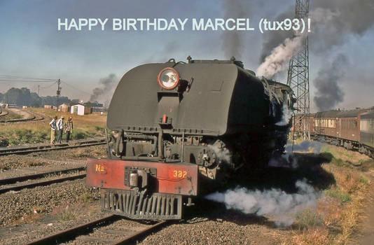 Happy Birthday Marcel (tux93) for 2019!