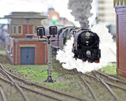 Slippery departure at Truro (South Western) by Brit31