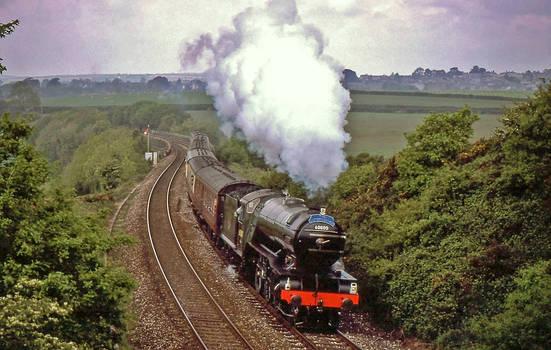 V2 on the Cornish Main Line