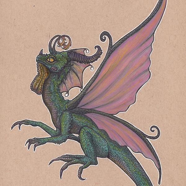 Dragonfairy by Drunk-Kittens