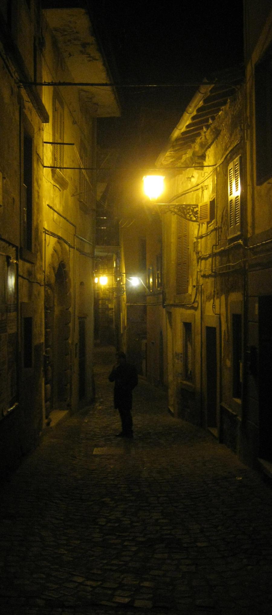 Qualcuno nel buio by Zuppetta