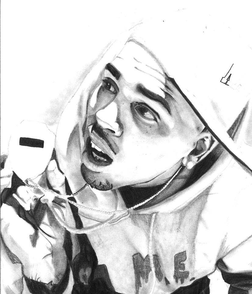 Chris Brown By Ellzz16 On Deviantart Chris Brown Coloring Pages