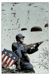 CAPTAIN AMERICA by Mitch Gerads by luclabelle