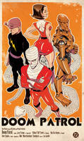 DOOM PATROL by Mike Hawthorne by luclabelle