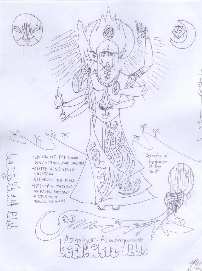 Ashur-Hatiqa by Rajalyoko23
