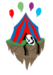 CiRCuS MoNSTeR Doodle Sphere island by Pharaoh-Yami
