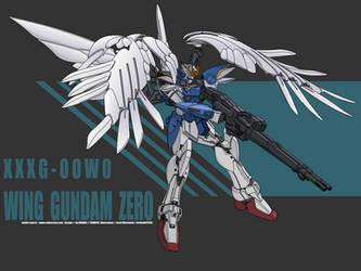 Wing Gundam Zero by Rockatansky105