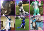Full suit collage