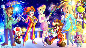 Mario's New Year 2021 Party